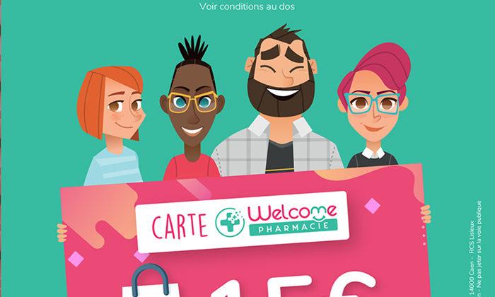 La carte de fidélité Welcome Pharmacie