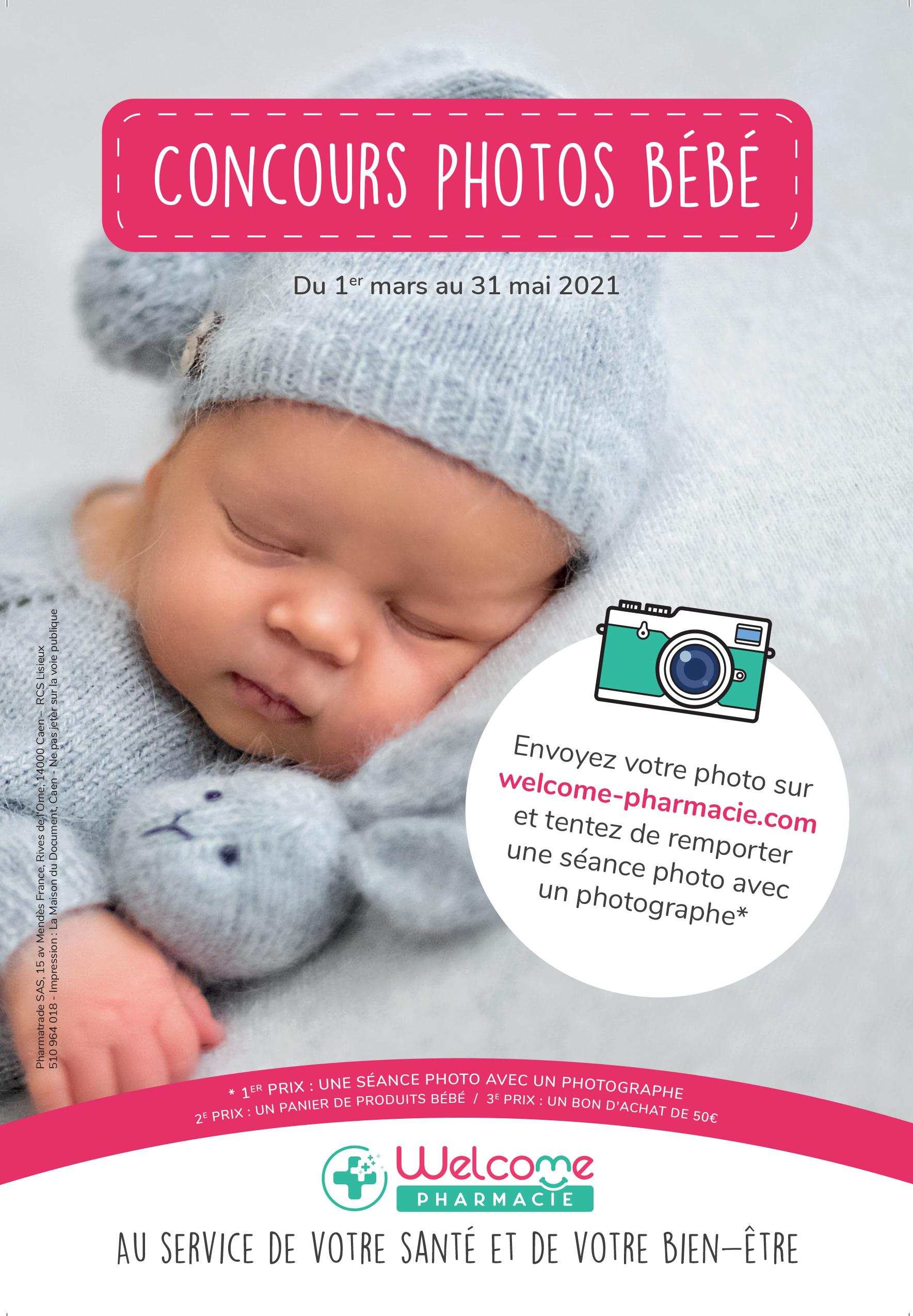 Concours photos bébé